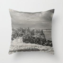 Old Dunluce Throw Pillow