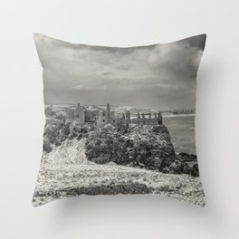 Old Dunluce Throw Pillow