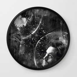 Call me across the universe Wall Clock