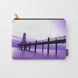 Purple Dawn Carry-All Pouch