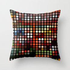 Comic Throw Pillow