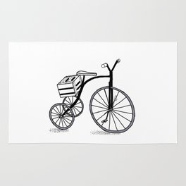 Bike on 3 wheels Rug