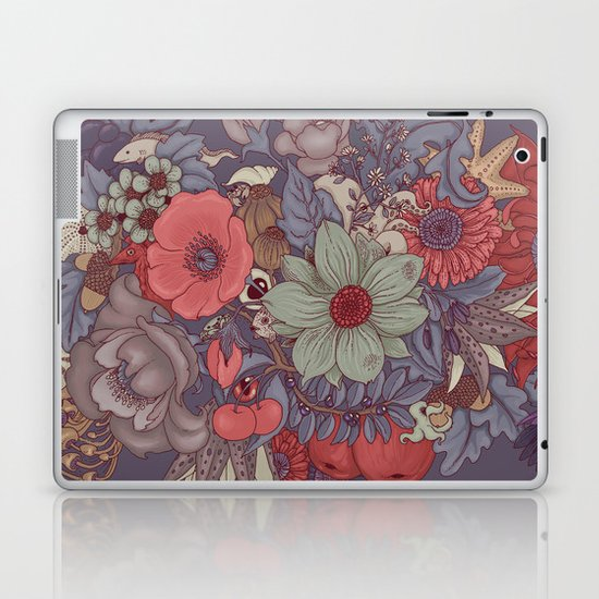 the wild side - dusty tones Laptop & iPad Skin