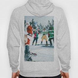 Santa Claus in the snow Hoody