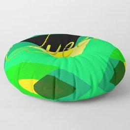 Jamaican Queen Floor Pillow