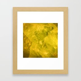 Calcite Framed Art Print