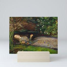 Ophelia, John Everett Millais Mini Art Print