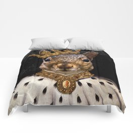 Lord Peanut (King of the Squirrels!) Comforters