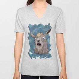 Goats That Scream Like People Unisex V-Neck