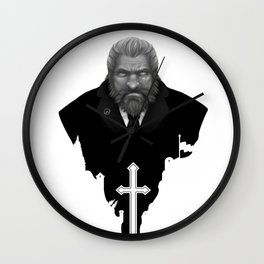 Reinhardt: Heavier than the hammer Wall Clock