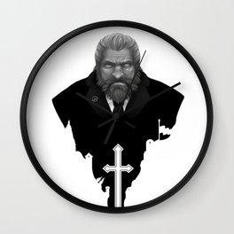 Reinhardt: Heavier than the hammer Wall Clock