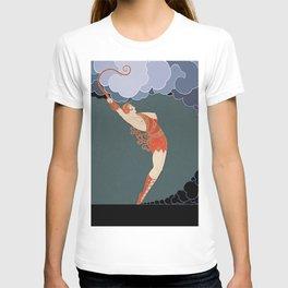 "Art Deco Illustration ""The Dancer"" T-shirt"