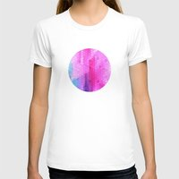 scales T-shirts featuring pink scales by Hannah