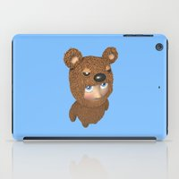 furry iPad Cases featuring Furry baby by Metin Seven