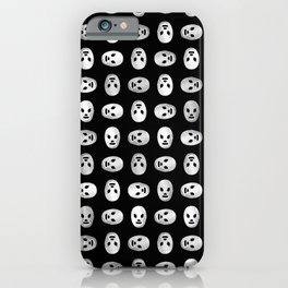 Luchador Mexican Wrestling Mask Pattern iPhone Case