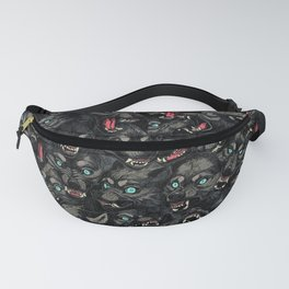 Wolf Pack Pattern Fanny Pack