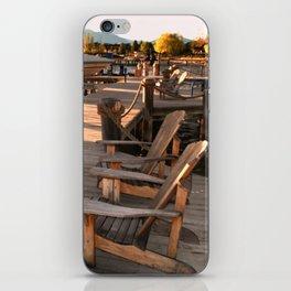 Deck Chairs iPhone Skin