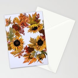 Autumn Wreath Stationery Cards