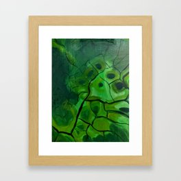 Dried Tempura Framed Art Print