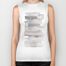 150129 Neutral Cool Abstract 3 Biker Tank