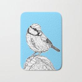 Blue Tit Bird Bath Mat