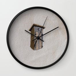 Out (of the) House Wall Clock