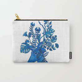 Flowery fawn Carry-All Pouch