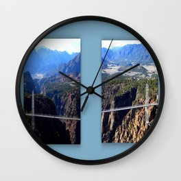 The Royal Gorge Wall Clock