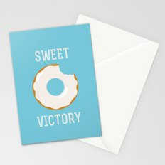 Sweet Victory (Better Known as a Donut) Stationery Cards