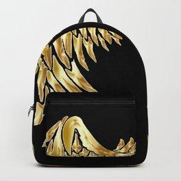 Dark Angel Wings Backpack