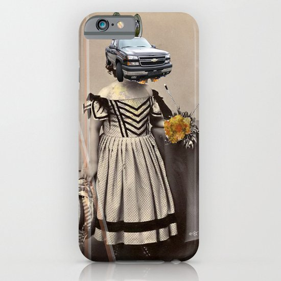 Little Kid Car Collage iPhone & iPod Case