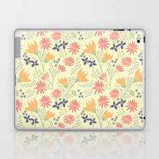 Autumn Floral Pattern Laptop & iPad Skin