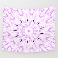 lavender Wall Tapestries featuring lavender by Simply Chic