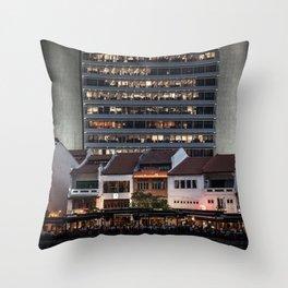Architectual Antagonisms Throw Pillow