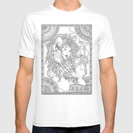 pose of spring T-shirt