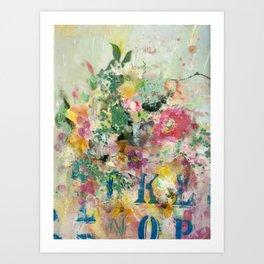 Bright Blossoms Art Print
