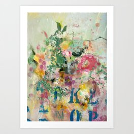 Bright Blossoms Art Print