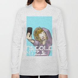 Sheep Selfie Long Sleeve T-shirt