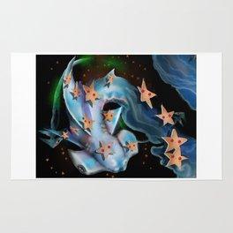 Shark-Hammerhead and Sea Stars Rug
