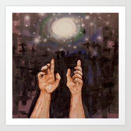 Starlight Dreaming Art Print