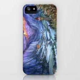The Hidden Valley in Winter iPhone Case