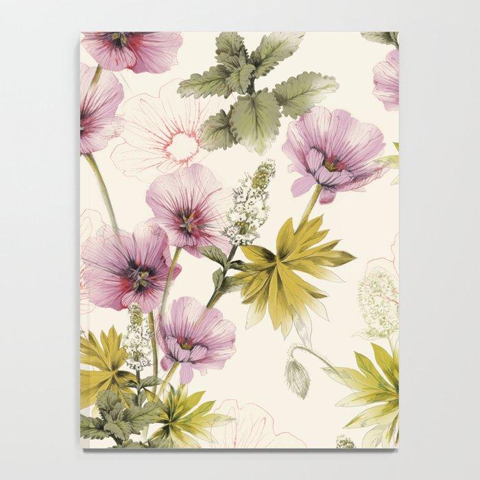 Geranium & Gardenmint Notebook