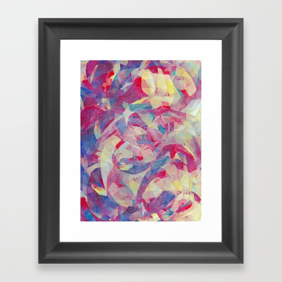In Sanity Framed Art Print