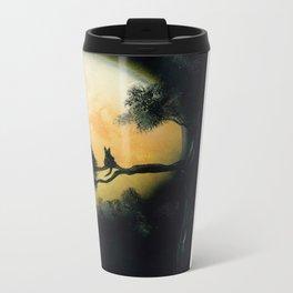 Autumn Moon Metal Travel Mug