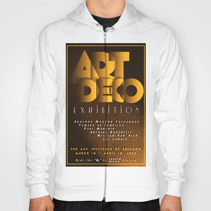 Art Deco Exhibition Poster Hoody