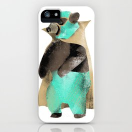 Luchador Bear iPhone Case