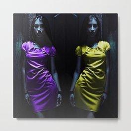 Portrait of Two Girls by Jeanpaul Ferro Metal Print