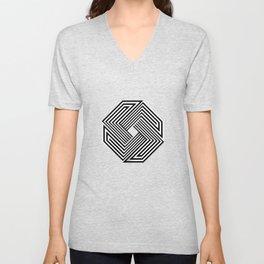 Impossible octagon Unisex V-Neck