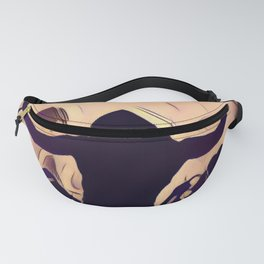 Person Playing Violin Music Fanny Pack
