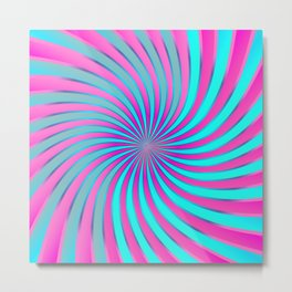 Spiral Vortex G232 Metal Print